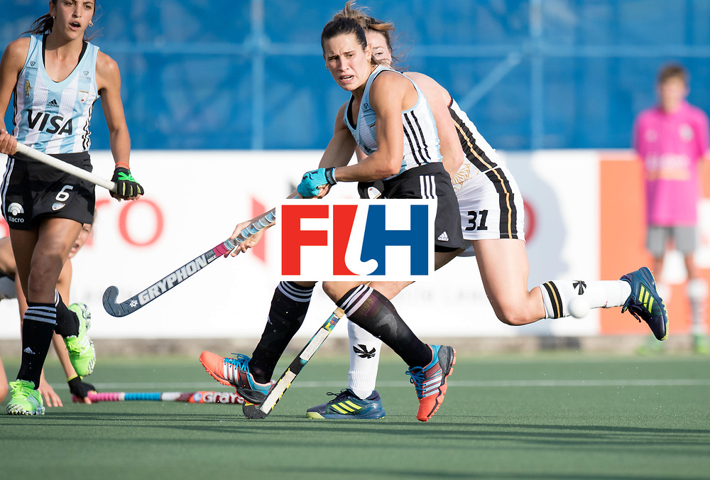 AUCKLAND - Sentinel Hockey World League final women<br /> Match id: 10307<br /> 17 ARG v GER (Losing Q/Finalis<br /> Foto: Martina Cavallero <br /> WORLDSPORTPICS COPYRIGHT FRANK UIJLENBROEK