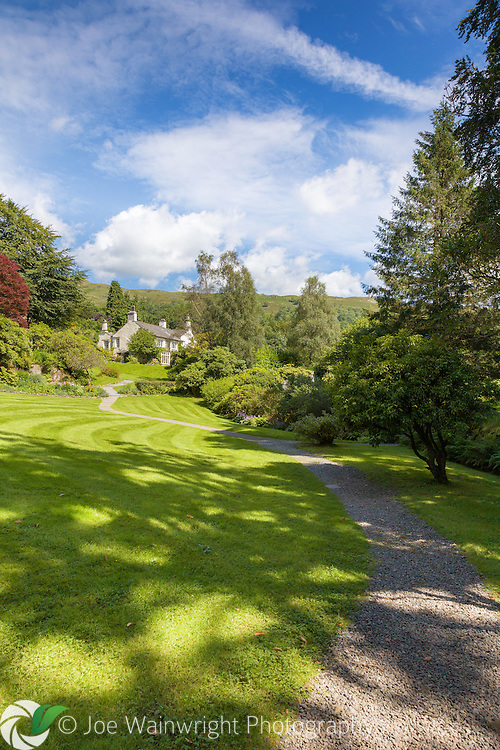 Home to William Wordsworth and his family, Rydal Mount in Cumbria, boasts beautiful gardens with many reare shrubs.