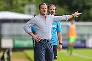 Forest Green Rovers manager, Mark Cooper during the Vanarama National League match between Forest Green Rovers and Gateshead at the New Lawn, Forest Green, United Kingdom on 13 August 2016. Photo by Shane Healey.