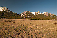 Red Rock Lakes National Wildlife Refuge, Centennial Mountains, Montana, Continental Divide, Spring
