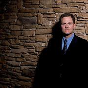 """Greg Whiteley director of """"New York Doll""""  on the fourth day of the Sundance Film Festival Sunday, Jan. 23, 2005 in Park City, Utah. August Miller/ Deseret Morning News DIGITAL PHOTOGRAPH"""