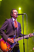 Alejandro Escovedo performs at the Old Settler's Music Festival in Driftwood, Texas, April 16, 2010.