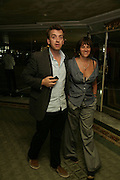 Tracey Emin and Scott Macnee, Beyond Belief-Damien Hirst. White Cube Hoxton and Mason's Yard.Party  afterwards at the Dorchester. Park Lane. 2 June 2007.  -DO NOT ARCHIVE-© Copyright Photograph by Dafydd Jones. 248 Clapham Rd. London SW9 0PZ. Tel 0207 820 0771. www.dafjones.com.