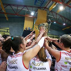 20160109: SLO, Volleyball - Slovenian Cup Final Women, Calcit Ljubljana vs Nova KBM Branik