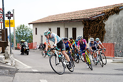 Lizzy Banks (GBR) on the final climb during Stage 8 of 2019 Giro Rosa Iccrea, a 133.3 km road race from Vittorio Veneto to Maniago, Italy on July 12, 2019. Photo by Sean Robinson/velofocus.com