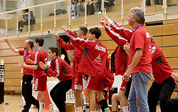 05.11.2016, SPORT. ZENTRUM Niederösterreich, St. Pölten, AUT, Invitational, Österreich vs Serbien, im Bild das Team von Österreich // during the Invitational match between Austria and Serbia at the SPORT. ZENTRUM Niederösterreich, St. Pölten, Austria on 2016/11/05, EXPA Pictures © 2016, PhotoCredit: EXPA/ Sebastian Pucher