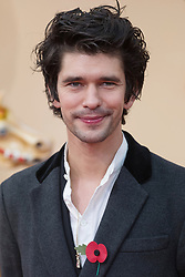 © Licensed to London News Pictures. 05/11/2017. London, UK. BEN WHISHAW  attends the Paddington Bear 2 UK film premiere. Photo credit: Ray Tang/LNP