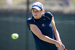 The Virginia Cavaliers Women's Tennis team fell to the #14 Wake Forest Demon Decons 6-1 at the Snyder Tennis Center in Charlottesville, VA on March 25, 2007.