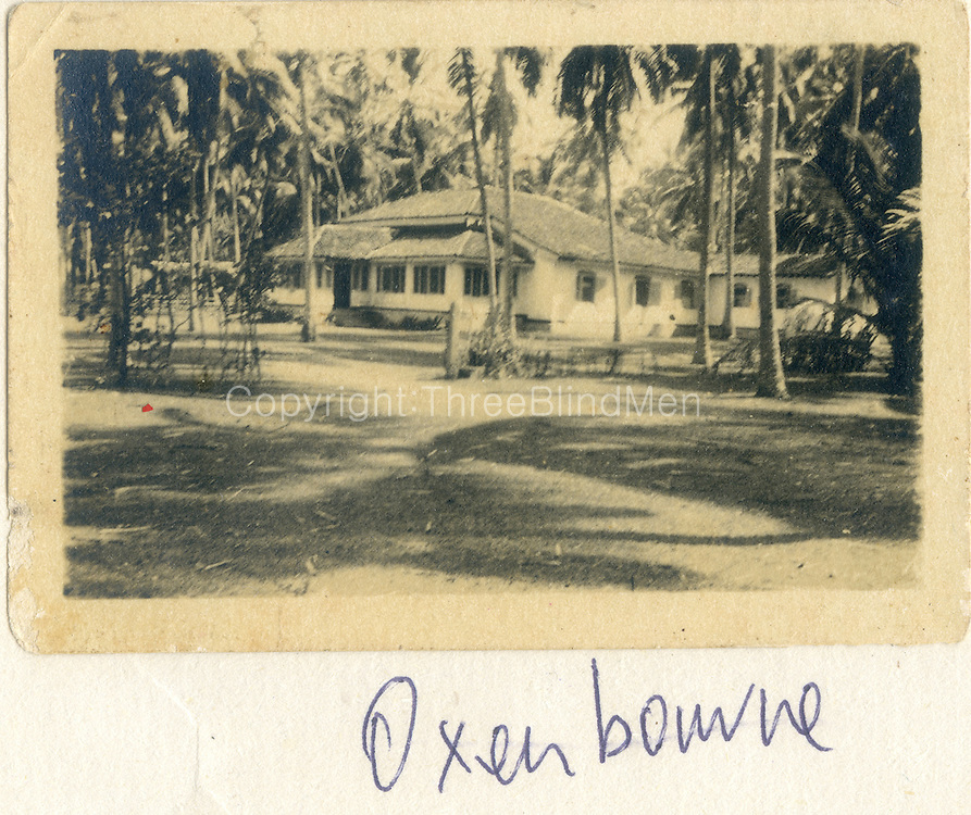 Oxenbourne bungalow.<br /> Sally Hulugalle Collection.
