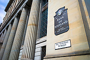 Bank of Scotland chief office, part of Lloyds Banking Group, in St Vincent Street, City Centre, Glasgow, Scotland, UK