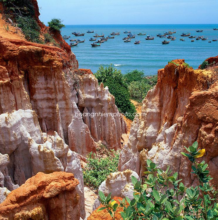 Vietnam Images-Seascape-Nature-Phan Thiet hoàng thế nhiệm