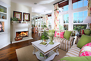 Model Home Single Family Residence Living Room