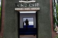 Venezia - 16. Mostra di Architettura. Padiglioni ai Giardini. Belgio - Eurotopie.
