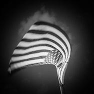 New York.  american flag   /    drapeau americain