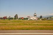 Batumi international airport, Georgia. Air traffic control tower