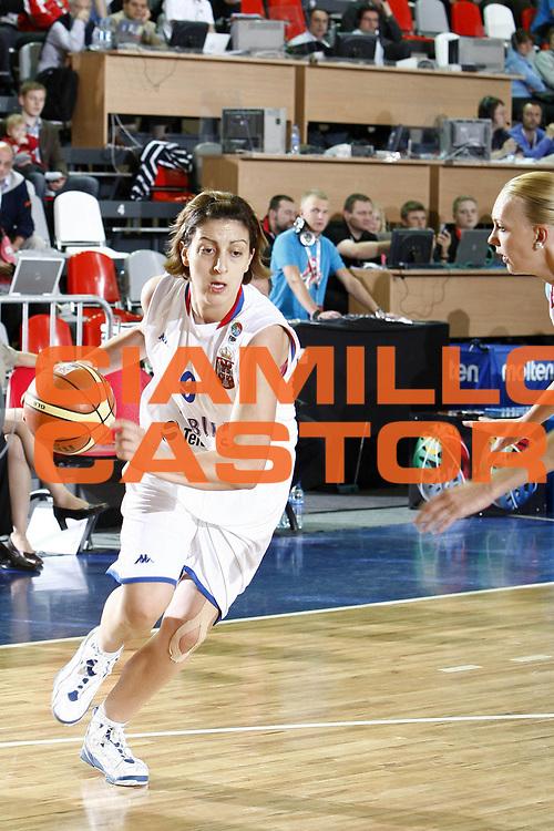 DESCRIZIONE : Valmiera Latvia Lettonia Eurobasket Women 2009 Russia Serbia<br /> GIOCATORE : Jelena Milovanovic<br /> SQUADRA : Serbia<br /> EVENTO : Eurobasket Women 2009 Campionati Europei Donne 2009 <br /> GARA : Russia Serbia<br /> DATA : 08/06/2009 <br /> CATEGORIA : palleggio<br /> SPORT : Pallacanestro <br /> AUTORE : Agenzia Ciamillo-Castoria/E.Castoria<br /> Galleria : Eurobasket Women 2009 <br /> Fotonotizia : Valmiera Latvia Lettonia Eurobasket Women 2009 Russia Serbia<br /> Predefinita :