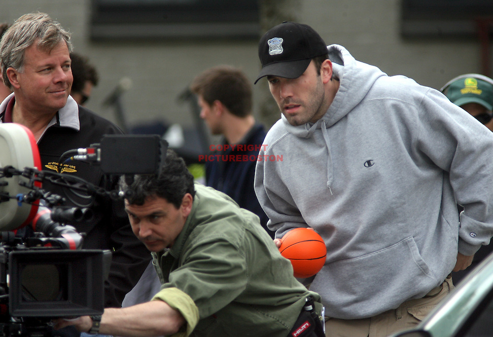 Ben Affleck in and around Boston,Mass. Filming and acting in Gone Baby Gone. Photo By Mark Garfinkel