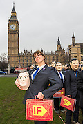 Oxfam campaigner Abby Mason joins Enough Food IF campaigners gather in Westminster to call on Osborne to keep promises to the world's poorest.