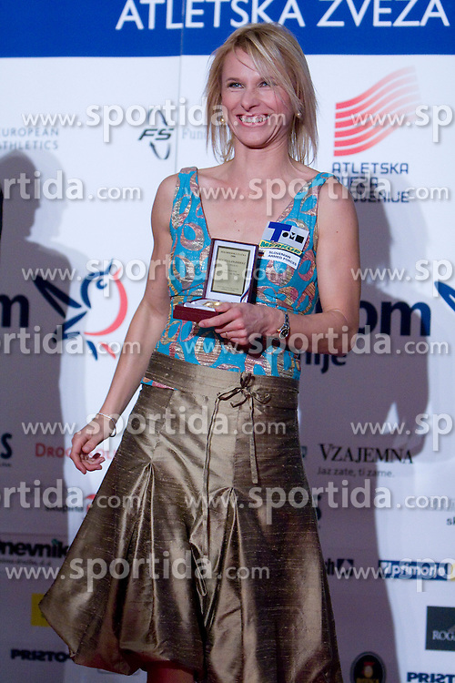 Brigita Langerholc at Best Slovenian athlete of the year ceremony, on November 15, 2008 in Hotel Lev, Ljubljana, Slovenia. (Photo by Vid Ponikvar / Sportida)