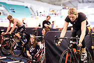 Cyclist at the National cycling centre for the National Track Championships in Manchester with Ioan Said Photography