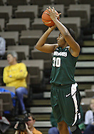 January 27 2010: Michigan St. forward Lykendra Johnson (30) puts up a shot during the first half of an NCAA women's college basketball game at Carver-Hawkeye Arena in Iowa City, Iowa on January 27, 2010. Iowa defeated Michigan State 66-64.