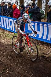 Christian HELMIG (60,LUX), 5th lap at Men UCI CX World Championships - Hoogerheide, The Netherlands - 2nd February 2014 - Photo by Pim Nijland / Peloton Photos