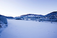 Utsikt fra mot Gol.