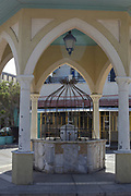 Israel, Jaffa. The Mahmoudiya Mosque ablutions fountain, a ritual purification fountain near the entrance to the mosque