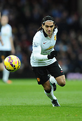 Manchester United's Radamel Falcao Garcia  - Photo mandatory by-line: Joe Meredith/JMP - Mobile: 07966 386802 - 20/12/2014 - SPORT - football - Birmingham - Villa Park - Aston Villa v Manchester United - Barclays Premier League
