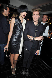 AGYNESS DEYN and HENRY HOLLAND at a dinner hosted by Alexandra Shulman editor of British Vogue in association with Net-A-Porter.com to celebrate 25 years of London Fashion Week and Nick Knight held at Le Caprice, Arlington Street, London on 21st September 2009.