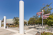 Hugh and Hazel Darling Library and Kresge Plaza at Azusa Pacific University