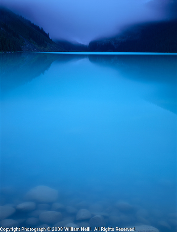 Dawn, Lake Louise, Banff National Park, Canada  1995