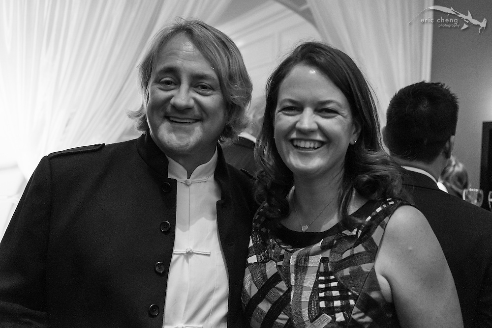Douglas Seifert and Emily Irving; WildAid Gala, November 15, 2014