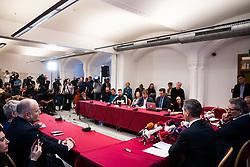 27.02.2020, Rathaus, Wien, AUT, Infizierung Coronavirus, Pressekonferenz im Bild Uebersicht// media briefing about first coronavirus infection in Vienna, Austria on 2020/02/27, EXPA Pictures © 2020, PhotoCredit: EXPA/ Florian Schroetter