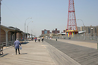 boardwalk, Coney Island, Brooklyn, New York