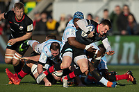 Rugby Union - 2019 / 2020 European Rugby Heineken Champions Cup - Pool Four: Saracens vs. Racing 92<br /> <br /> Saracens' Ben Spencer in action, at Allianz Park.<br /> <br /> COLORSPORT/ASHLEY WESTERN