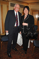 Left to right, BILL TIDY and his daughter SYLVIA TIDY-HARRIS at a tribute lunch for Elaine Paige hosted by the Lady Taverners at The Dorchester, Park Lane, London on 13th November 2007.<br /><br />NON EXCLUSIVE - WORLD RIGHTS