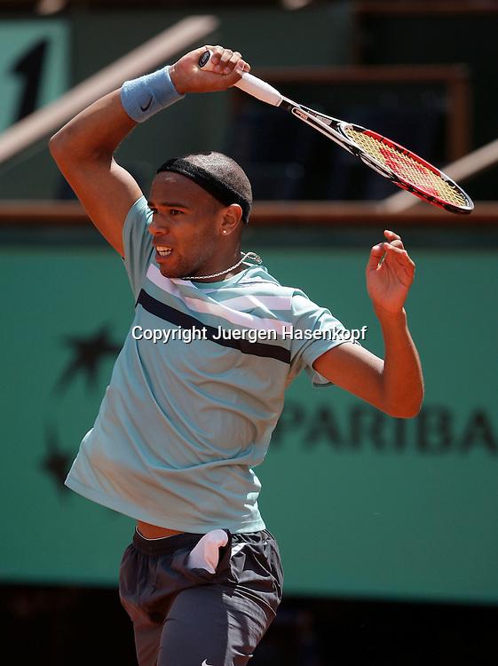 French Open 2009, Roland Garros, Paris, Frankreich,Sport, Tennis, ITF Grand Slam Tournament,  <br /> <br /> Josselin Ouanna(FRA)<br /> <br /> Foto: Juergen Hasenkopf