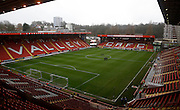 The Valley before Kick-off in the Sky Bet Championship match between Charlton Athletic and Nottingham Forest at The Valley, London, England on 2 January 2016. Photo by Andy Walter.
