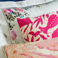 Detail of pillows