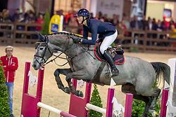 Paulsen Emely Karoline, NOR, Petit Cornet van de Rostal<br /> Pavo Hengstencompetitie<br /> Azelhof Lier 2020<br /> © Hippo Foto - Dirk Caremans