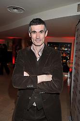 ANDREW MILLER winner of the Costa Novel Award and winner of the Costa Book of the Year 2011 at the 2011 Costa Book Awards held at Quaglino's, 16 Bury Street, London on 24th January 2012.