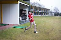 AMSTERDAM - Fling Golf. Nationaal Golf Congres & Beurs 2015. NVG FOTO KOEN SUYK