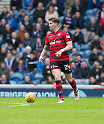 7th April 2018, Ibrox Stadium, Glasgow, Scotland; Scottish Premier League football, Rangers versus Dundee; Josh Meekings of Dundee