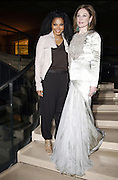 """14.JUNE.2011. PARIS, FRANCE<br /> <br /> JANET JACKSON AND BECCA CASON THRASH ATTENDING THE CHARITY GALA AT MUSEE DU LOUVRE """"LIAISONS AU LOUVRE II"""" IN PARIS, FRANCE.<br /> <br /> BYLINE: EDBIMAGEARCHIVE.COM<br /> <br /> *THIS IMAGE IS STRICTLY FOR UK NEWSPAPERS AND MAGAZINES ONLY*<br /> *FOR WORLD WIDE SALES AND WEB USE PLEASE CONTACT EDBIMAGEARCHIVE - 0208 954 5968*"""