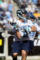 10 April 2010: North Carolina Tar Heels goalkeeper Chris Madalon (11) during a 7-5 loss to the Virginia Cavaliers at the New Meadowlands Stadium in the Meadowlands, NJ.