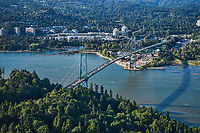 Lions Gate Bridge & Burrard Inlet, West Vancouver