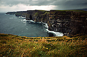 Cliffs of Moher during a storm Shannon Ireland