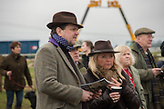 DUNCAN ARCHARD; ANNE-MARIE STUART-KING, The Heythrop Hunt Point to Point. Cocklebarrow. 24 January 2016
