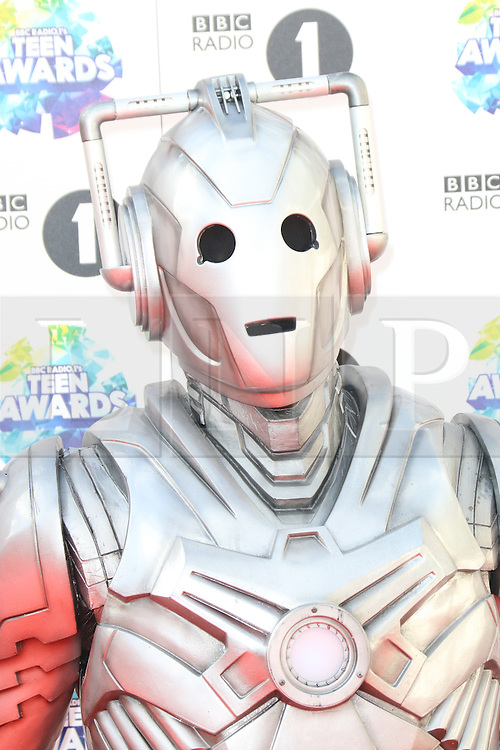 Doctor Who; Cybermen, BBC Radio 1 Teen Awards, Wembley Arena, London UK, 03 November 2013, Photo by Richard Goldschmidt © Licensed to London News Pictures. Photo credit : Richard Goldschmidt/Piqtured/LNP
